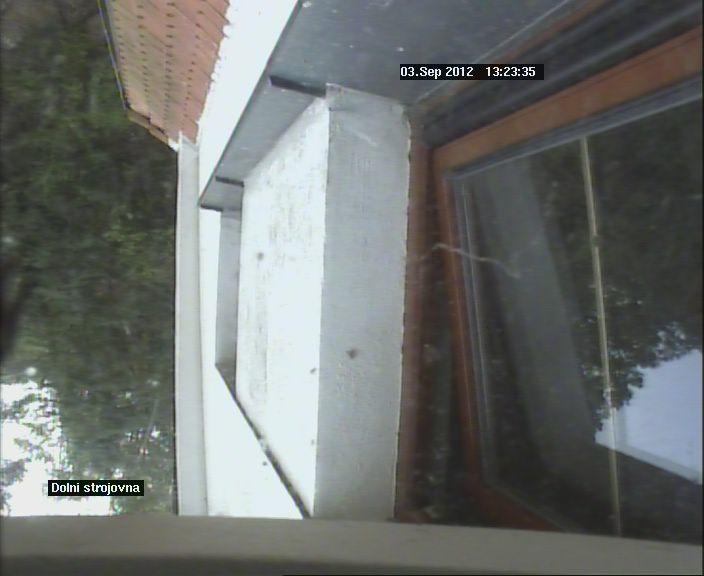 Kamera na hrázi 2 - chyba při načítání snímku